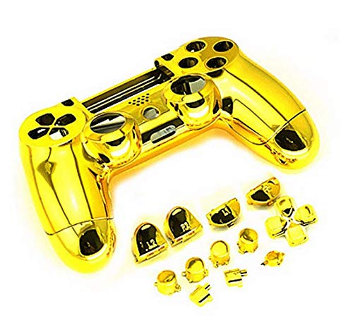 Colorful Chrome Controller Handle Shell Housing Cover For Sony Playstation 4 Controller Shell