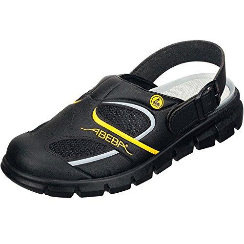 Abeba 37343-38 Dynamic Chaussures sabot Taille 38 Noir/Jaune
