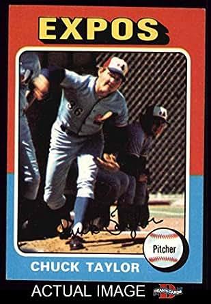 8ead3818837 Amazon.com  1975 Topps   58 Chuck Taylor Montreal Expos (Baseball ...