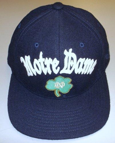 - Notre Dame Fighting Irish Flat Visor Flex Adidas Hat Size L/XL - TW67Z