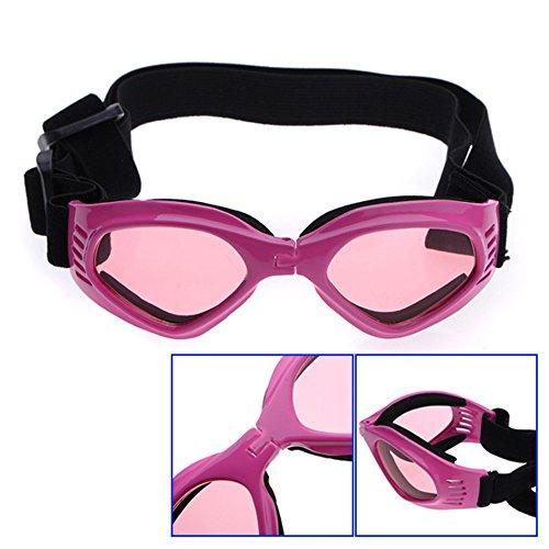 Pet Dog Goggles Uv Sunglasses Sun Glasses Fashion Eye Wear Protection 6 Color - Sunglasses Doggles Optix K9