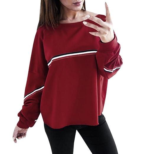 a1b438212ea5 Amazon.com  UONQD Women Loose Sweatshirt Pullover Tops Blouse  Clothing