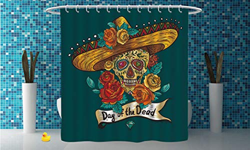 iPrint Durable Shower Curtain [ Day of The