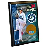 MLB Seattle Mariners Felix Hernandez 4 x 6-Inch Plaque