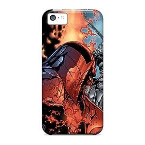 High Impact Dirt/shock Proof Case Cover For Iphone 5c (atrocitus I4)