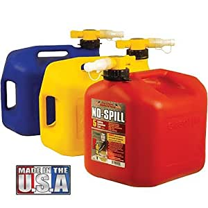 No spill diesel fuel can