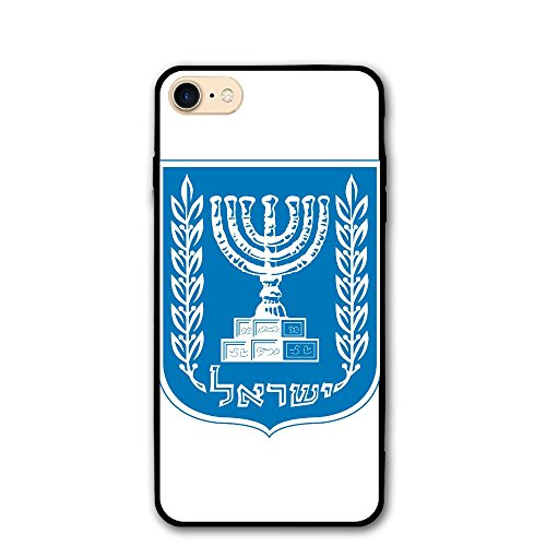 Fashion Israeli (Nice Bumper Case For 4.7 Inch Iphone 8 OdusHigh Fashion Israeli National Emblem)