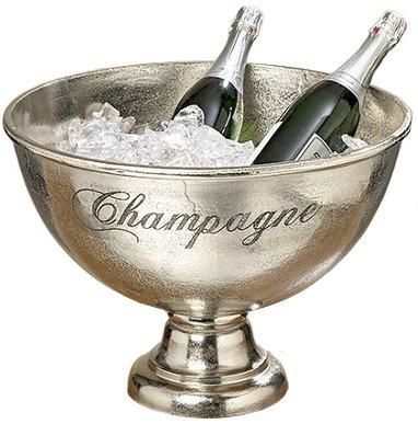 arredamento colore: metallizzato porta champagne vasca secchiello portaghiaccio soprammobile materiale: alluminio Decorazione ca /Ø 47 H 34 cm