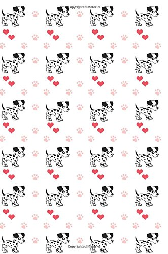 Download Journal: Paws and Hearts (Dalmatians) 6x9 - GRAPH JOURNAL - Journal with graph paper pages, square grid pattern (Dogs & Puppies Graph Journal Series) ebook