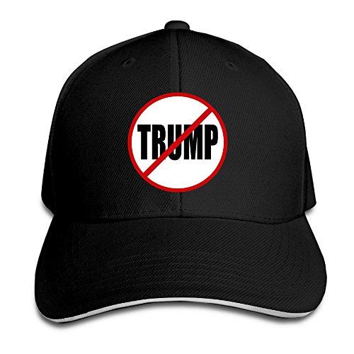 MNSTK No Donald Trump Sandwich Peak Baseball Hat - Costa Mar Wholesale Del