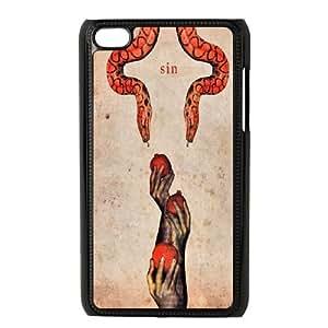 snake Design Unique Customized Hard Case Cover for iPod Touch 4, snake iPod Touch 4 Cover Case