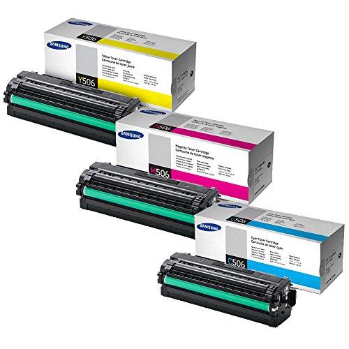 Samsung CLT-506L High Yield Toner Set Colors Only (C/M/Y)