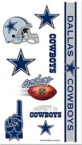 Dallas Cowboys Temporary (Dallas Cowboy Tattoos)