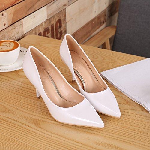 GAOLIM High-Heel Schuhe Schuhe der der Schuhe Minimalistische Frauen Punkt Licht in Ordnung Ist mit der High-Heel Schuhe Sammeln Farbe Einzelne Schuhe mit Hohen Absätzen (5-8 cm). - 50399b