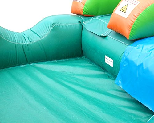 Pogo Bounce House Inflatable Water Slide, 12-Foot Tall, 21-Foot Long, 9-Foot Wide, Crossover Tropical Oasis Complete, with Included Blower, Stakes, Repair Kit, and Storage Bag by Pogo Bounce House (Image #4)
