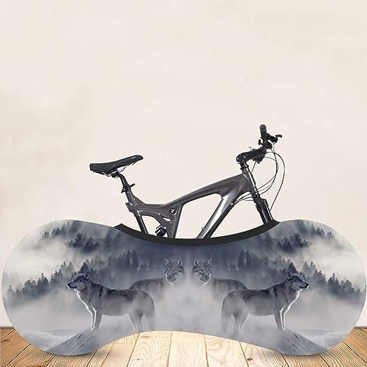 JINGLU Cubierta de Rueda de Bicicleta, Cubierta de Bicicleta de montaña de Interior, Bolsa de Almacenamiento de Bicicleta de Interior Antipolvo de Bicicleta de ...