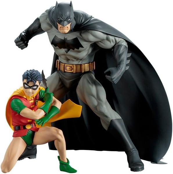 Pack 2 estatuas Batman & Robin 16 cm. Línea ARTFX+. DC Cómics ...