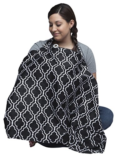 nursing coverBoppy Nursing Cover, Seville, fashionable nursing cover for breastfeeding (Best Breastfeeding Cover Up)