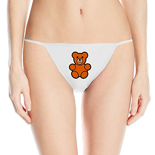Brother Bear Ms. Sexy G-String White