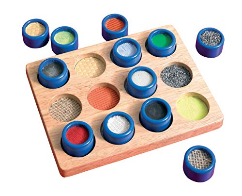 (TickiT Touch & Match Board - Toddler Sensory Exploration - Special Educational Needs - Tactile Board - Touch & Feel)
