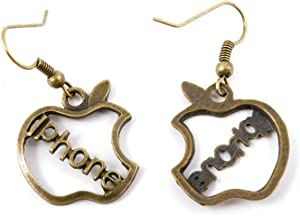 60 Pairs Jewelry Making Charms Supply Supplies Wholesale Fashion Earring Backs Findings Ear Hooks X8YH4 Apple