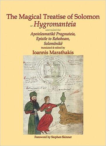 Amazon com: The Magical Treatise of Solomon, or Hygromanteia