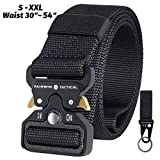 IDEATECH Tactical Belt,1.5 Inch Quick Release Heavy Duty Tactical Belt for Men-Tactical Belt for Cargo Pants