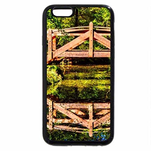 iPhone 6S / iPhone 6 Case (Black) Garden