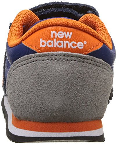 New Balance KE420 - Zapatillas para niños Azul (Blau (LOI BLUE/ORANGE))