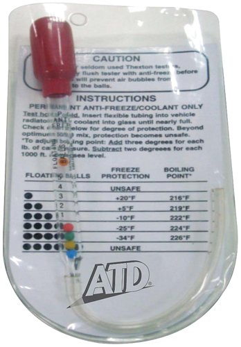 UPC 663126011017, ATD Tools 1101 Pocket Antifreeze and Coolant Tester with Pouch