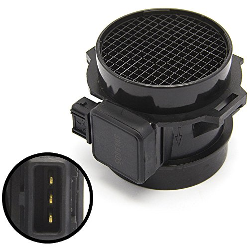 2001 Bmw E46 - Mass Air Flow Sensor Meter MAF for BMW E36 E39 E46 3 Series 5 Series Z3 Series Land Rover Freelander Suzuki Verona & Volvo S40 V40 2.5L 2.8L Edition Replace # 5WK9605 13621432356