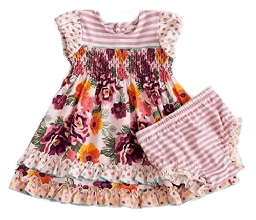 Matilda Jane Once Upon A Time Tea Time Dress and Diaper Cover (18-24 months) by Matilda Jane