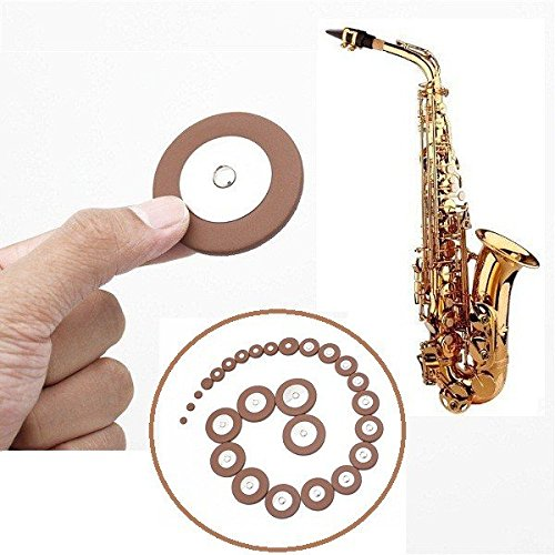Alto Saxophone Leather Pads Set Musical Instruments Accessories