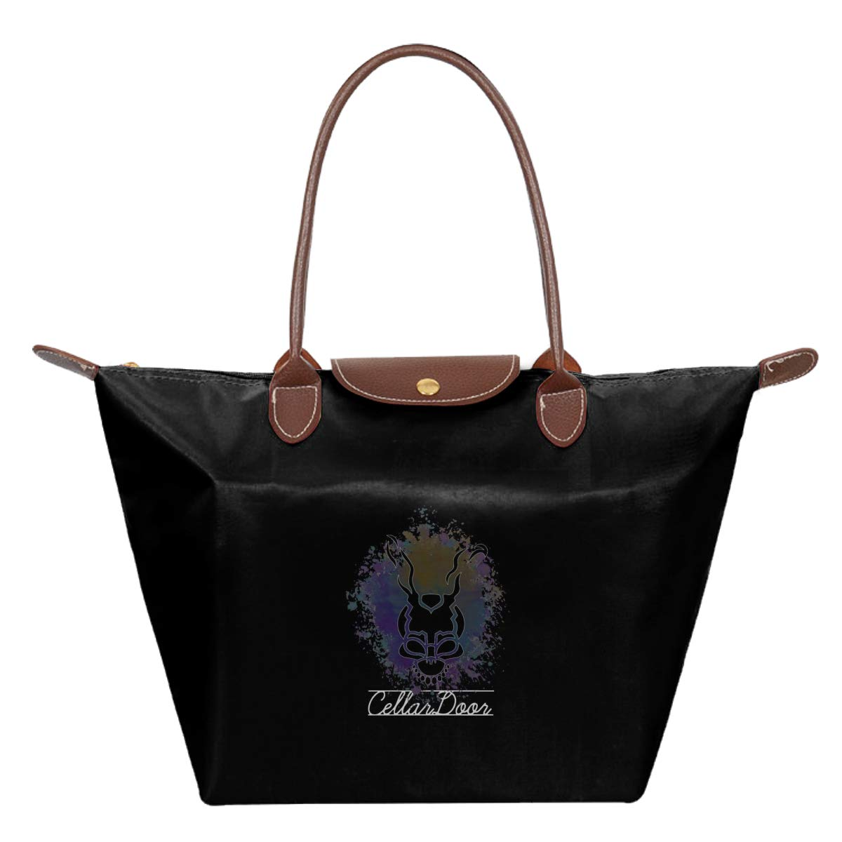 Donnie Darko Frank Cellar Door Montage Waterproof Leather Folded Messenger Nylon Bag Travel Tote Hopping Folding School Handbags
