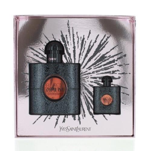 Yves Saint Laurent BLACK OPIUM 2017 Gift Set 50ml Eau De Parfum Spray & 7.5ml EDP 3614271941565