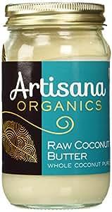 Artisana Pure Organic Raw Coconut Butter, 16 oz