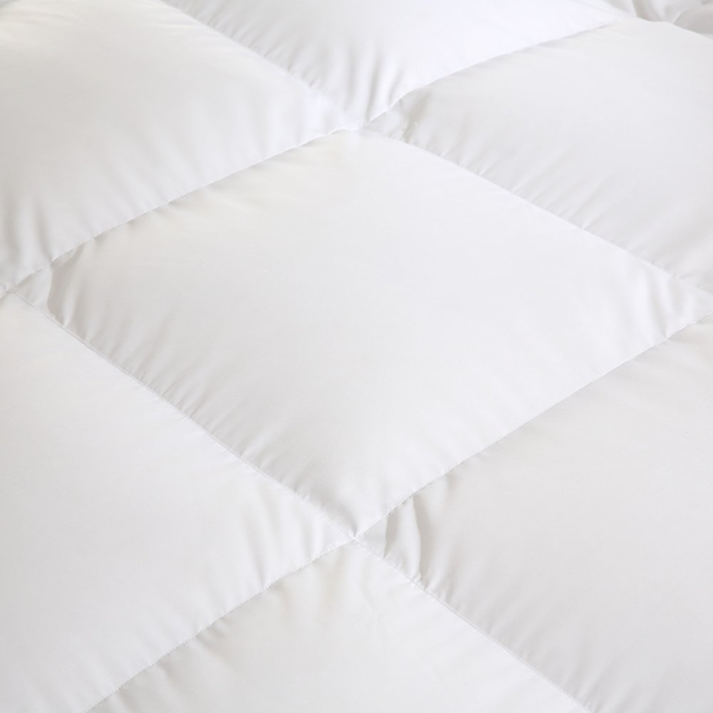 Quilt Breathable soft duvet White feather-A 220x240cm(87x94inch) by WENXXXXX (Image #3)