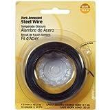 The Hillman Group 123122 24 Gauge Dark Annealed Wire, 1-Pack