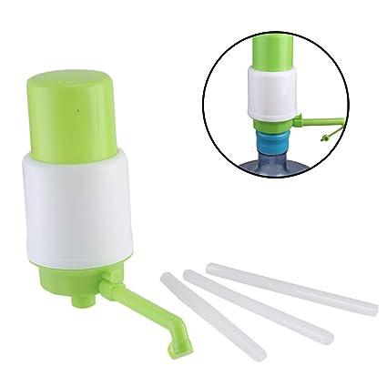HUVE Dispensador de Agua Manual para garrafas Bomba, Compatible con la mayoría de Botellas Grandes