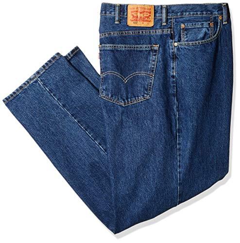 Levi's Men's Big and Tall Big & Tall 560 Comfort Fit Jean, Dark Stonewash, 56W x 28L