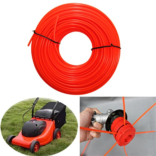Wchaoen 45m Flexible Nylon Trimmer Line Rope For Most Petrol Strimmers Machine Tools and accessories