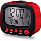 Coby Cbc-52-Red Retro Alarm Clock