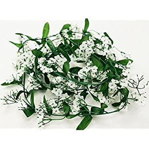 Efavormart 12 Bushes Baby Breath Artificial Filler Flowers for DIY Wedding Bouquets Centerpieces Party Home Decoration - White 3