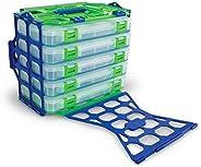 Lure Lock Tackle boxes, Medium w/ ElasTak Liner
