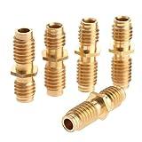 5Pcs Copper Hotend M6*20MM Nozzle Throat Tube Pipe For Reprap Ultimaker 3D Printer