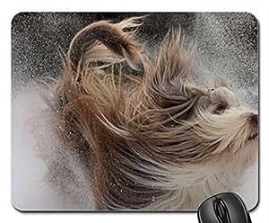CACHORRINHO NO VENTO Cute Cool Decorative Design Animal Dog Mousepad