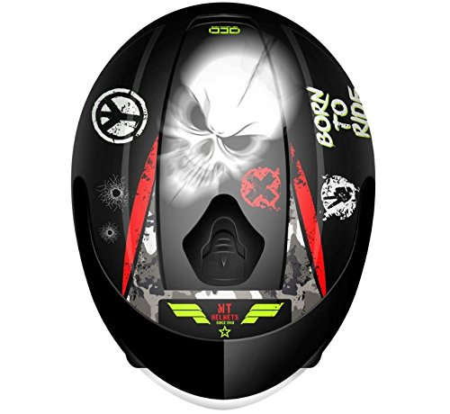 Amazon.es: MT - Casco Infantil MT Thunder KID SNIPER Negro Talla M (51-52 cm.)
