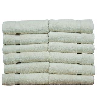Chakir Turkish Linens Turkish Cotton Luxury Hotel & Spa Bath Towel, Wash Cloth - Set of 12, Beige (B00IOYYBFO) | Amazon price tracker / tracking, Amazon price history charts, Amazon price watches, Amazon price drop alerts