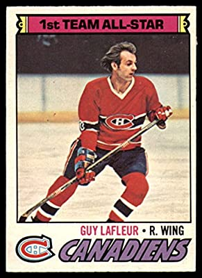 Hockey NHL 1977-78 O-Pee-Chee #200 Guy Lafleur AS EX Excellent Canadiens