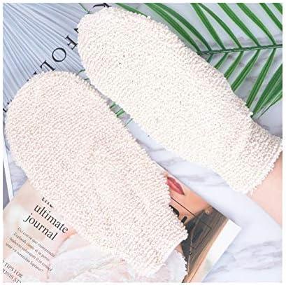 手袋 日常 実用 ユニセックス入浴手袋角質除去マッサージ泡風呂手袋 (Color : ONE PAIRS)